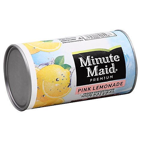 Minute Maid Premium Juice Frozen Concentrated Pink Lemonade - 12 Fl. Oz.