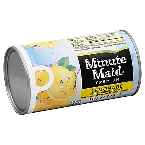 Minute Maid Juice Premium Lemonade Frozen Concentrated - 12 Fl. Oz.