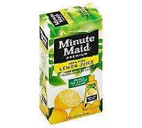 Minute Maid Premium Juice From Concentrate Lemon - 7.5 Fl. Oz.
