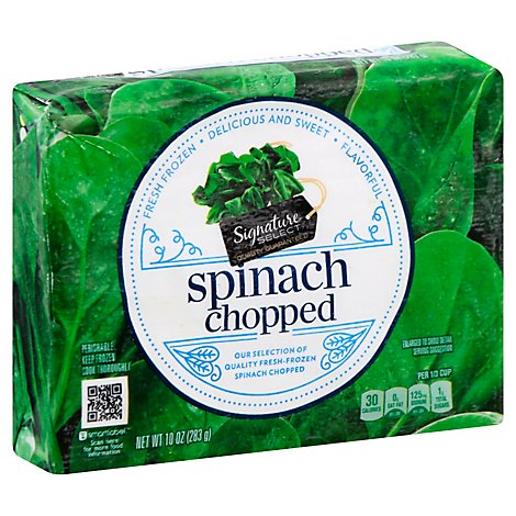 Signature SELECT/Kitchens Spinach Chopped - 10 Oz