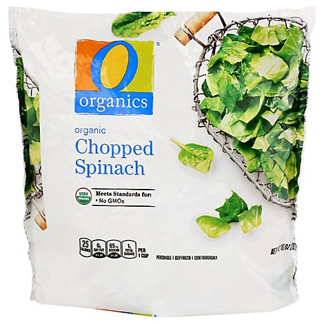 O Organics Organic Spinach Chopped - 16 Oz