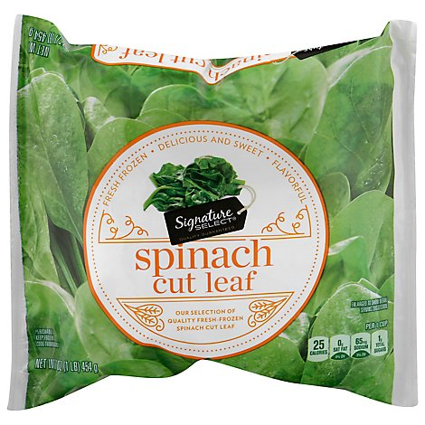 Signature SELECT/Kitchens Spinach Cut Leaf - 16 Oz