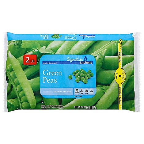 Signature SELECT Peas Green - 32 Oz