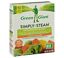 Green Giant Steamers Vegetable Blend Antioxidant Blend Lightly Sauced - 7 Oz