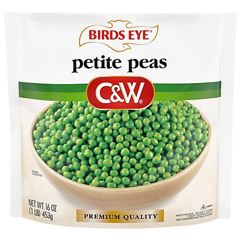 Birds Eye C&W Peas Petite - 16 Oz