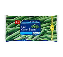 Signature SELECT/Kitchens Beans Green Cut - 32 Oz