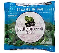 Signature SELECT/Kitchens Broccoli Florets Petite Steam In Bag - 12 Oz