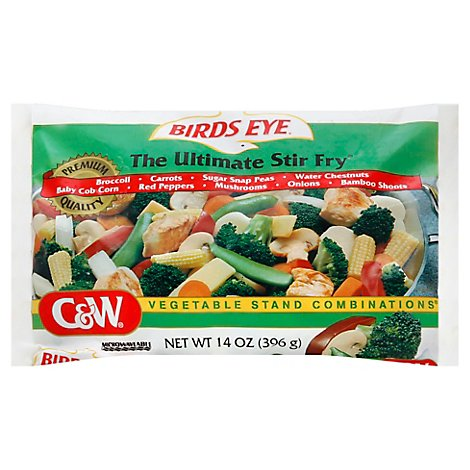 Birds Eye C&W Vegetable Stand Combinations The Ultimate Stir Fry - 14 Oz