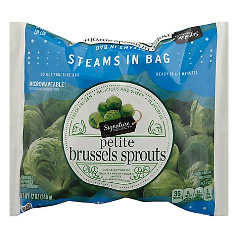 Signature SELECT/Kitchens Brussel Sprouts Petite Steam In Bag - 12 Oz