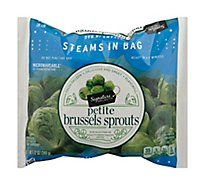 Signature SELECT Brussels Sprouts Petite Steam In Bag - 12 Oz