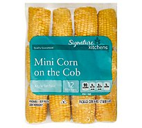Signature SELECT/Kitchens Corn On The Cob Mini - 12 Count