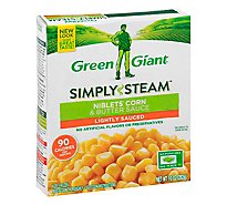 Green Giant Steamers Niblets Corn & Butter Sauce Lightly Sauced - 10 Oz