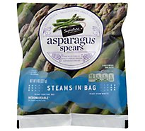 Signature SELECT Asparagus Spears Steam In Bag - 8 Oz