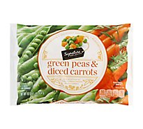 Signature SELECT Peas Green & Diced Carrots - 16 Oz