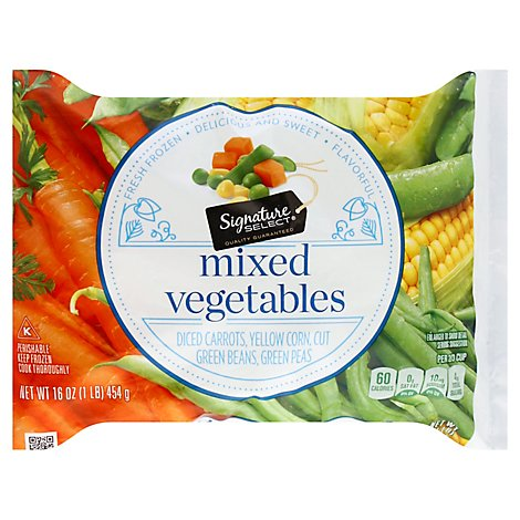 Signature SELECT Vegetables Mixed - 16 Oz