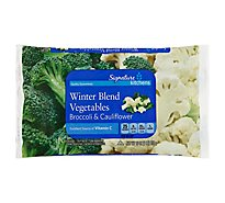 Signature SELECT Vegetables Winter Blend Broccoli & Cauliflower - 16 Oz