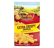 Ore-Ida Potatoes French Fried Golden Crinkles Extra Crispy - 26 Oz