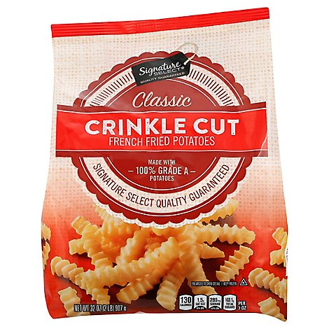 Signature SELECT Potatoes French Fried Crinkle Cut Classic - 32 Oz