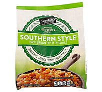 Signature SELECT Potatoes Hash Browns Diced Southern Style - 32 Oz