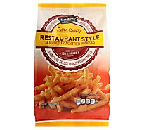 Signature SELECT/Kitchens Potatoes French Fried Seasoned Restaurant Style - 32 Oz