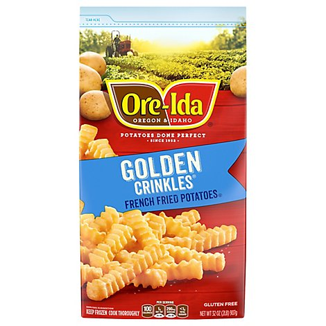 Ore-Ida Potatoes French Fried Golden Crinkles - 32 Oz