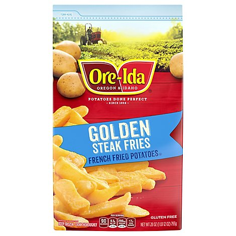 Ore-Ida Potatoes French Fried Thick Cut Steak Fries - 28 Oz