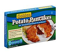 Golden Pancakes Potato 8 Count - 10.6 Oz