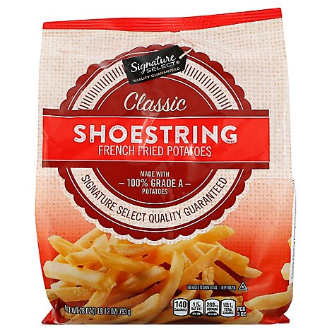 Signature SELECT Potatoes French Fried Shoestring - 28 Oz