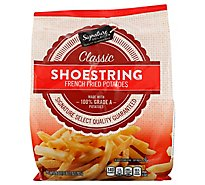 Signature SELECT/Kitchens Potatoes French Fried Shoestring - 28 Oz