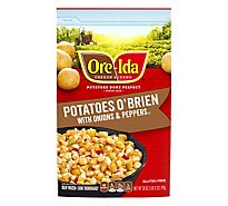 Ore-Ida Potatoes O Brien With Onions & Peppers - 28 Oz