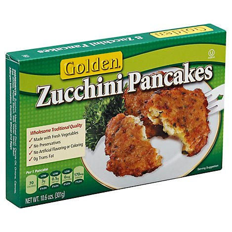 Golden Pancakes Zucchini 8 Count - 10.6 Oz