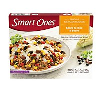 Smart Ones Delicious Mexican Flavors Meal Santa Fe Rice & Beans - 9 Oz