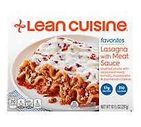 Lean Cuisine Favorites Entree Lasagna with Meat Sauce - 10.5 Oz