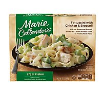 Marie Callenders Entree Fettuccini With Chicken & Broccoli - 13 Oz