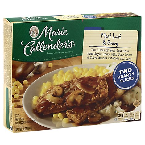 Marie Callenders Frozen Food Meatloaf Gravy & Potato - 14 Oz