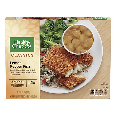 Healthy Choice Complete Meals Lemon Pepper Fish - 10.7 Oz