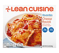 Lean Cuisine Favorites Entree Cheese Ravioli With Cunku Tomato Sauce - 8.5 Oz