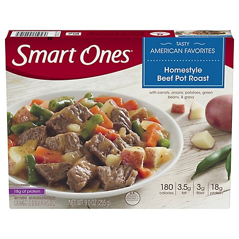 Smart Ones Tasty American Favorites Meal Homestyle Beef Pot Roast - 9 Oz