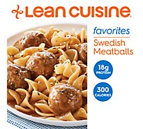 Lean Cuisine Favorites Entree Swedish Meatballs - 9.125 Oz