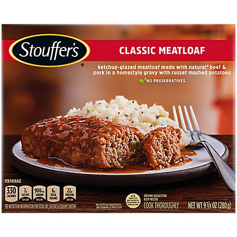 STOUFFERS Classics Meal Meatloaf - 9.875 Oz