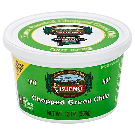 Bueno Chile Green Chopped Hot - 13 Oz