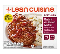 Lean Cuisine Comfort Entree Meatloaf with Mashed Potatoes - 9.375 Oz