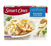 Smart Ones Tasty American Favorites Meal Slow Roasted Turkey Breast - 9 Oz