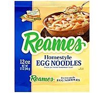 Reames Frozen Food Pasta Egg Noodles - 12 Oz