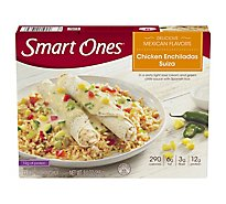 Smart Ones Delicious Mexican Flavors Meal Chicken Enchiladas Suiza - 9 Oz