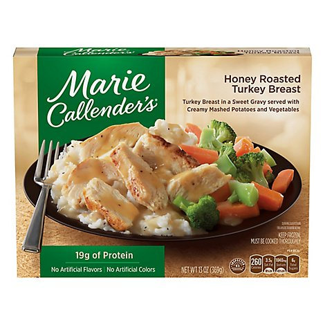 Marie Callenders Honey Roasted Turkey Frozen Dinner - 13 Oz