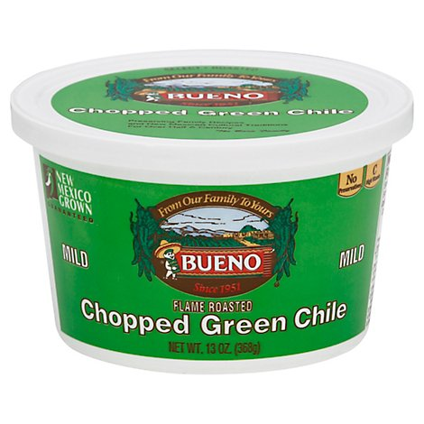 Bueno Chile Green Chopped Mild - 13 Oz