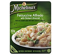 Michelinas Frozen Meal Fettuccine Alfredo With Chicken & Broccoli - 8 Oz