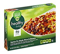 Eating Right For Healthy Living Rice & Beans Santa Fe Style - 9.25 Oz
