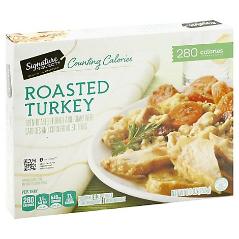 Signature SELECT Frozen Meal Roasted Turkey - 9.75 Oz